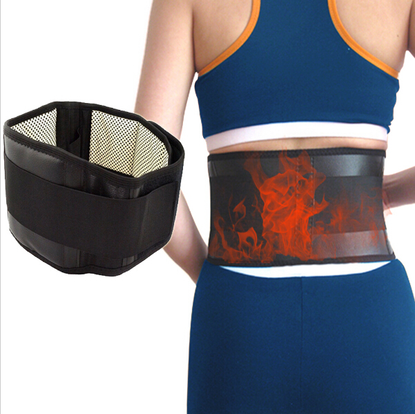 Lumbar Support Belt Adjustable Tourmaline Self-heating Magnetic Therapy Lumbar Brace Belts Thermal Protection Double Banded 4XL