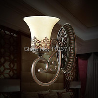 Wall Lamps 1 Light , Retro Elegant European Artistic wall light contains LED bulbs Free shipping free shipping