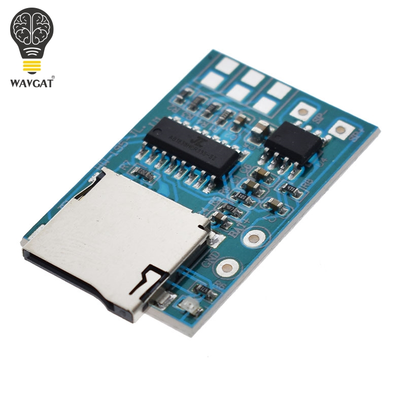 Electronic Components & Supplies 1pcs Great It Gpd2846a Tf Card Mp3 Decoder Board 2w Amplifier Module For Arduino Gm Power Supply Module