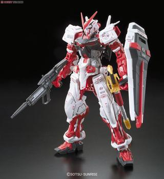 Bandai Gundam 00634 RG 1/144 Astray Red Mobile Suit Assemble Model Kits Action Figures Plastic Model toys 2
