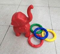 Kindergarten Baby Elephant Rings Children's Outdoor Toys Playground Training System Throwing Unisex Gymnastics Perceptivity