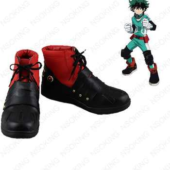 Anime My Hero Academia Boku no Hero Akademia Izuku Midoriya Cosplay Shoes Anime Boots - DISCOUNT ITEM  19% OFF All Category