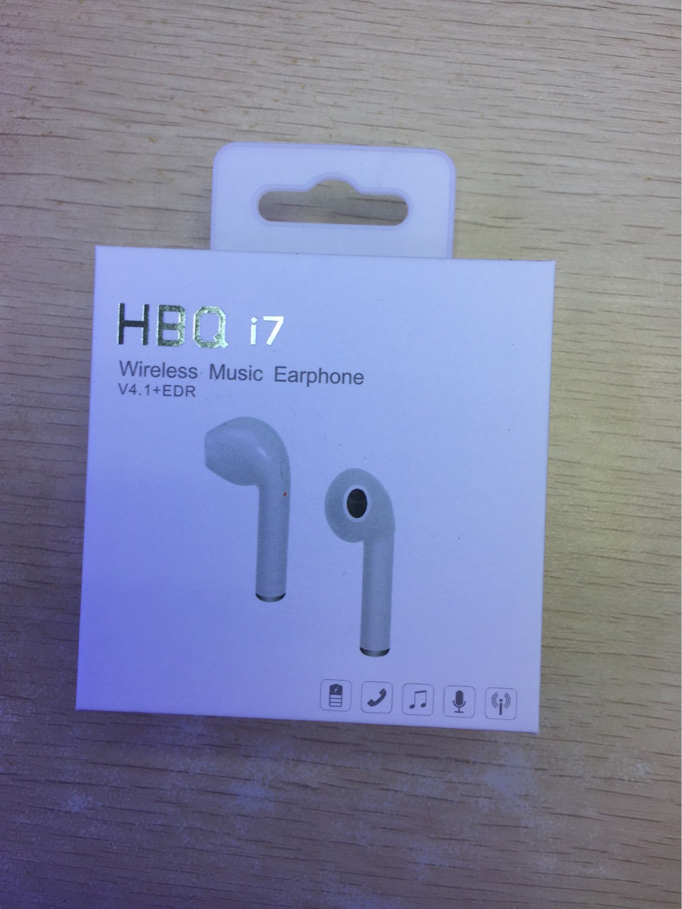 bb8912c7da9 New HBQ i7 stealth mini Bluetooth headset earbuds 4.1 Noise Cancelling  stereo single ear Bluetooth earphone for xiaomi iPhone-in Bluetooth  Earphones ...