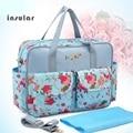 Insular MultiColor diaper bag 2017 shoulder handbag high quality maternity mother stroller mummy bag multifunctional baby bag
