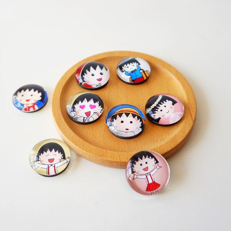 Chibi Maruko-chan мультфильм креативное Хрустальное стекло ...