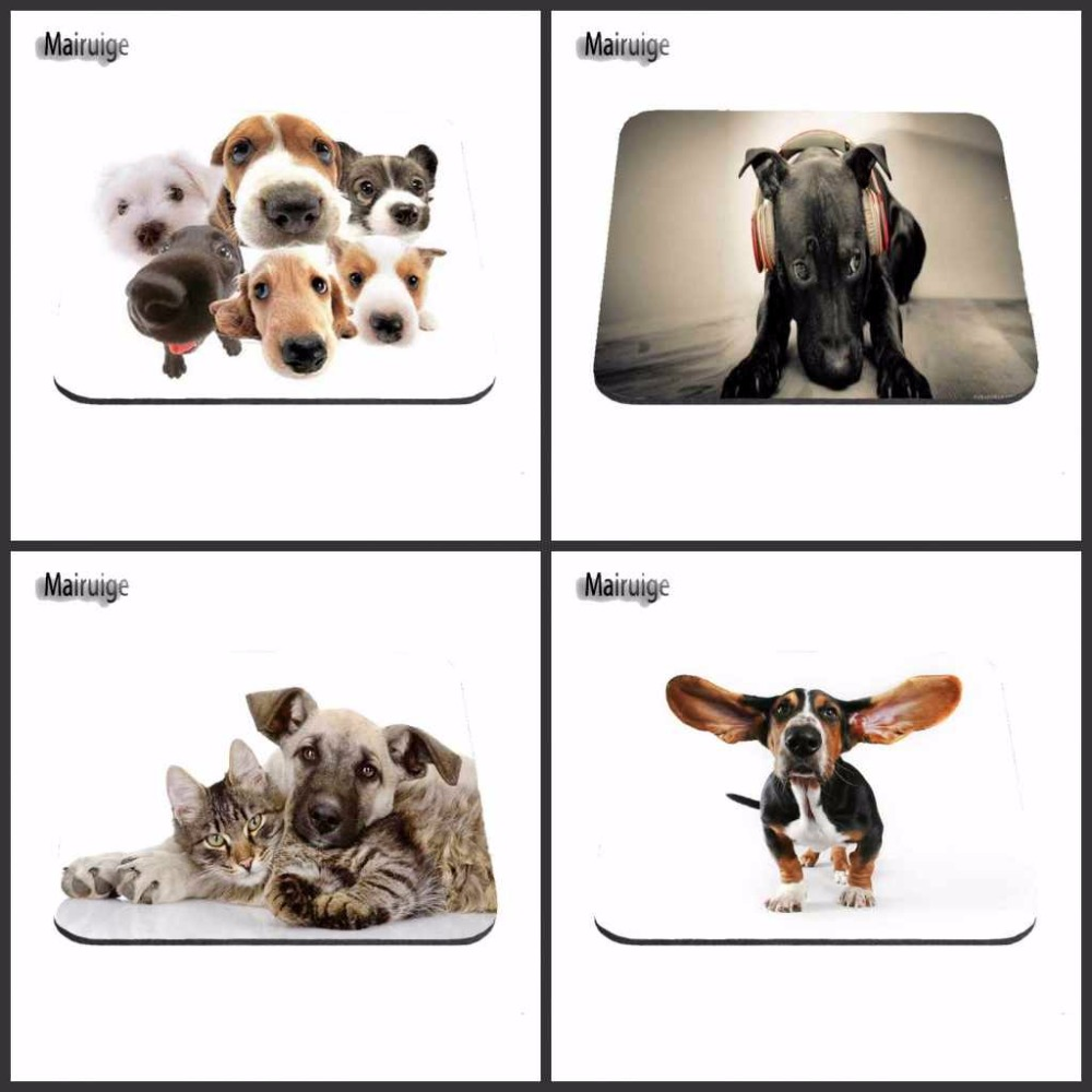 US $2 08 Anak Anjing Beagle Mairuige Gambar Lucu Hot Meja Anti Slip Dog Fashion Mouse Pad Untuk Komputer Laptop Tablet PC Menghias Meja Anda Dog