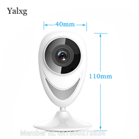 Yalxg Wifi Ip Home Security Camera Smart Mini Network Baby Monitor Two Way Voice Panoramic 185