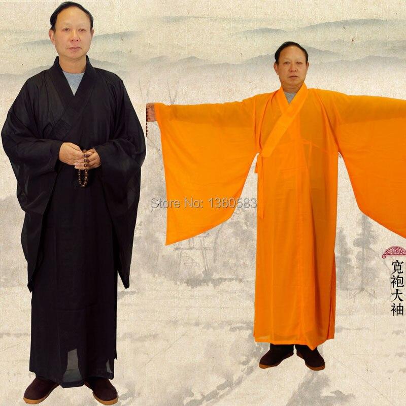 Мужская шаолинь дзен-буддизма халат монах медитация платье кунг-фу ряса одежда аббот бонза костюмы тренировочную форму костюмы