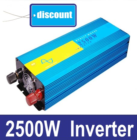2500W Rein Sinus Wechselrichter 12 volt 24 volt home inverter 2500W pure sine wave inverter 3000w pure sinus inverter 12 volt to 220 volt 3000va off grid pure sine wave inverter