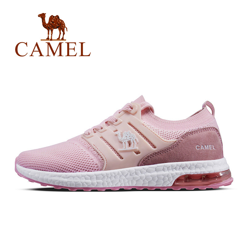 CAMEL Women Running Shoes Pink Comfortable Sneakers Breathable Women s Mesh Air Sport Shoes For Outdoor