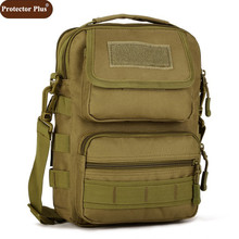 Protector Plus 2019 Hot Fashion Men Camouflage Bag Leisure Nylon Crossbody Handbag Military Men Travelling Bags D208