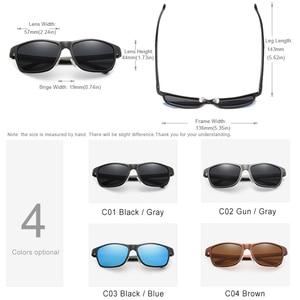 Image 3 - KINGSEVEN Men's Polarized Sunglasses Aluminum Sun Glasses Driving Square Shades Oculos masculino Male Eyewear Goggle