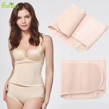 Women Waist Polyester Breathable Elastic Postpartum Abdominal Waist Band Postnatal Recovery Belly Belt Binder Slimming Support