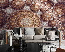 beibehang Custom size Fantasy wall paper stereo abstract sphere TV sofa background painting papel de parede 3d wallpaper