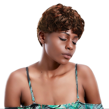 Short Natural Wave Wigs Synthetic Hair Brown Afro Hair Wig 11'' African Wigs for Black Women Heat Resistant Hollywood HPHR-009 2017 new arrival japan izumi track single speed chian fix gear speed chian