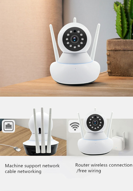 phone monitoring with 64G TF card 1080P HD IP Security Camera Indoor Surveillance System infrared night visionphone monitoring with 64G TF card 1080P HD IP Security Camera Indoor Surveillance System infrared night vision