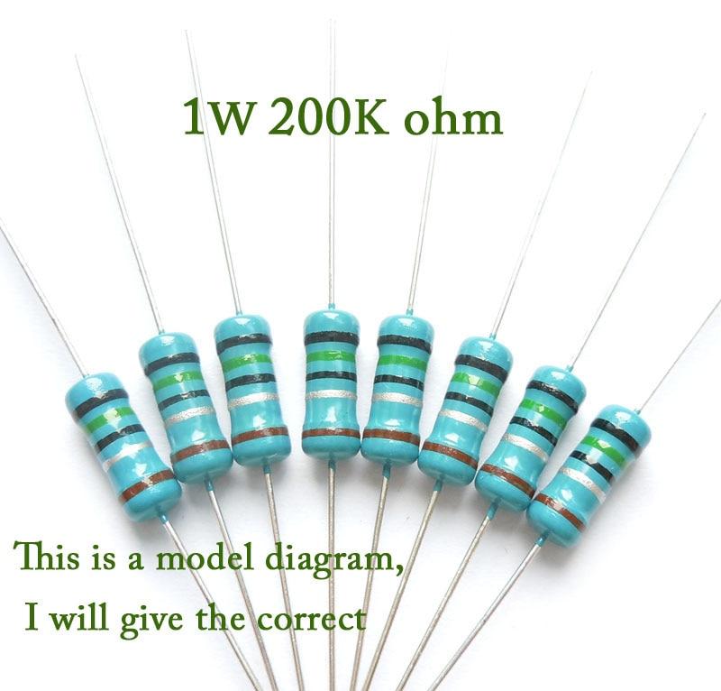 1019 Película de metal resistencia 6,2 Ohm 0,6 W 1/% 5 unidades
