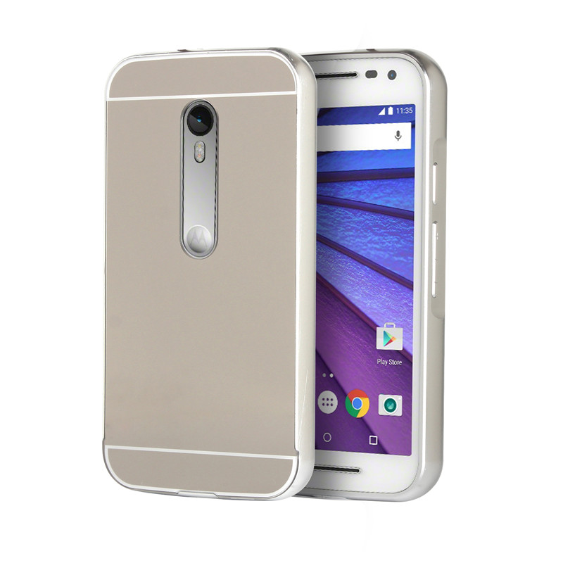For Motorola Moto G3 Case XT1541 XT1542 XT1543 AL Metal