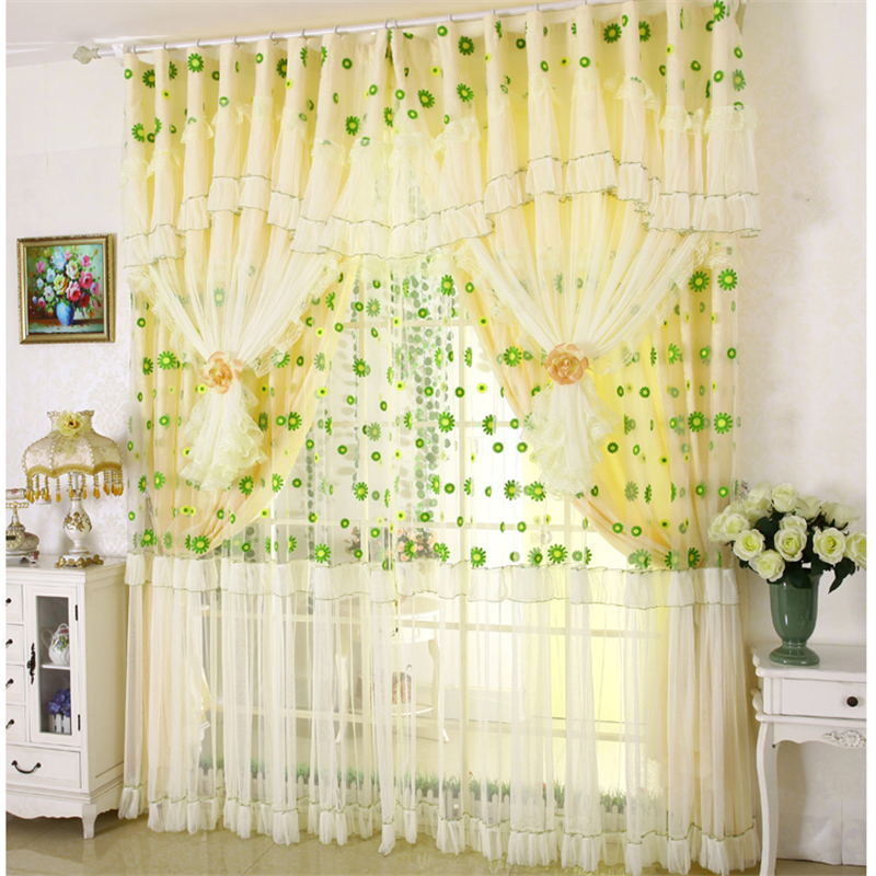custom tulle Korean rural pastoral high-grade embroidery lace curtains bedroom living room cloth sheer curtain tulles E261custom tulle Korean rural pastoral high-grade embroidery lace curtains bedroom living room cloth sheer curtain tulles E261