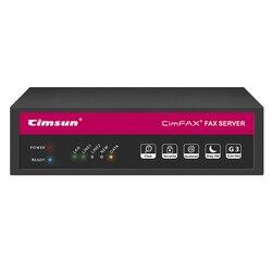 CimFAX H5, Servidor de Fax de Alta Velocidad, Enviar Archivos desde PC/Móvil, Fax a Email, Acceso Remoto, Sistema de Fax Profesional para Empresas, Certificado de CE/RoHS