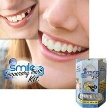Временный набор для ремонта зубов исправление сломанных зубов и заполнение зазоров ремонт зубов