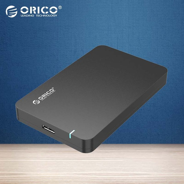 ORICO 2.5'' HDD Enclosure &SSD Case Sata3.0 to USB 3.0 Tool Free [Support UASP Protocol]-Black ( Not including HDD )(2569S3)