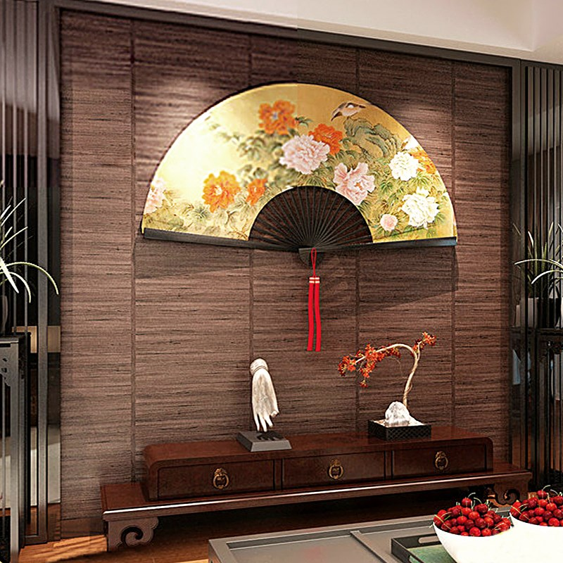 Chinese vintage imitation wood grain background wallpaper ceiling grass straw mat Japanese style living room tatami wallpaper vintage wood grain flannel antiskid bath rug
