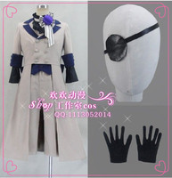 2016 Japanese Anime Kuroshitsuji Black Butler Ciel Phantomhive Cosplay Costume