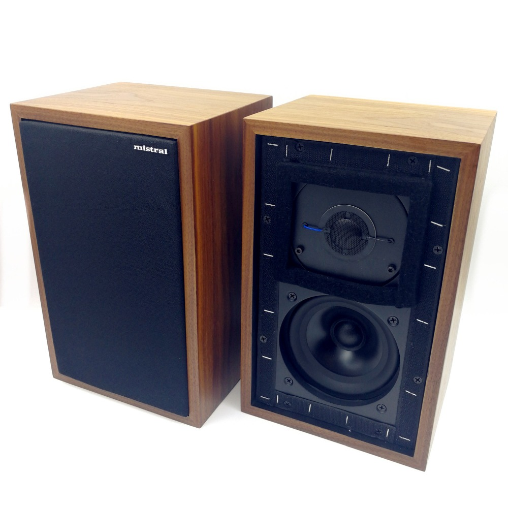 цена на Mistral LS3/5A 11 Ohms 50W x 2 Monitor Speakers LS35A hifi bookshelf speakers (Pair)