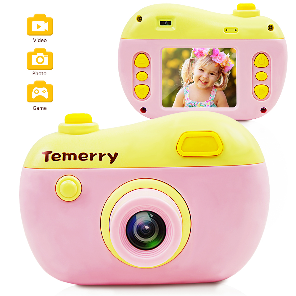 New Children Educational Toddler Toy Photo Camera Kids Mini Digital Toy Camera With Photography Gifts For Kids Toy Camera