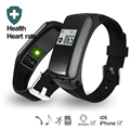 F50 Heart Rate Monitor Smart Wristband with Detachable Bluetooth Headset Function Dial SmartBand Smart Bracelet Band 32G TF Card
