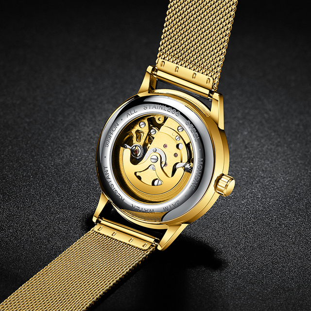 Skeleton Watch 2020 New FNGEEN Sport Mechanical Watch Luxury Watch Mens Watches Top Brand Montre Homme Clock Men Automatic Watch 5