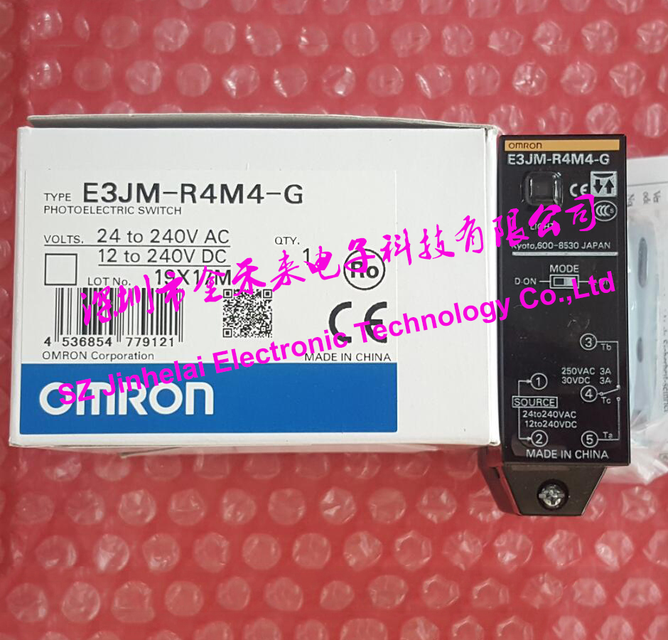 100%New and original ORMON E3JM-R4M4-G Photoelectric switch 24-240VAC/12-240VDC цена