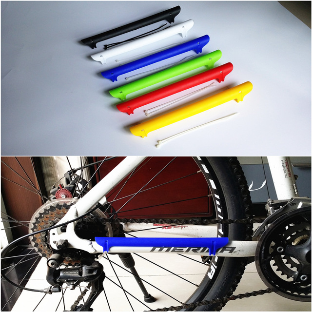 Road Mountain Bike MTB Bicycle Frame Chain Stay Posted Protector ...