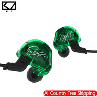 2018 KZ ZSR Balanced Armature With Dynamic In Ear Ear Phone 2BA 1DD Unit Noise Cancelling