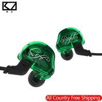 2018 KZ ZSR Balanced Armature With Dynamic In Ear Ear Phone 2BA 1DD Unit Noise Cancelling