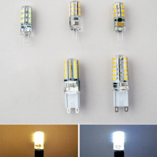 3W 5W SMD3014 G4 LED Lamp DC 12V 220V/ AC 220V Silicone Bulb 24/32/48/64/104 LEDs replace 10W 30W 50W Halogen Light