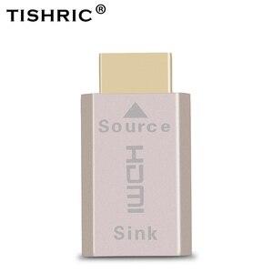 Image 1 - Tishric Voor Hdmi 2.0 Virtuele Adapter Edid Ddc Dummy Plug Headless Ghost Voor Hdmi Display Emulator Tot 3840*2160