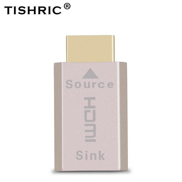 Tishric Voor Hdmi 2.0 Virtuele Adapter Edid Ddc Dummy Plug Headless Ghost Voor Hdmi Display Emulator Tot 3840*2160