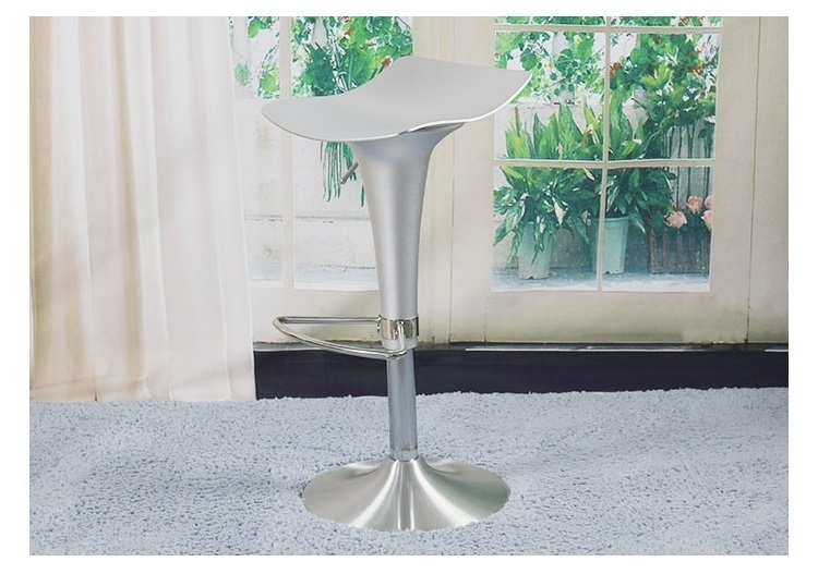 South Africa Bar stools Aluminum seat coffee chair silver color living room stool free shipping hotels great escapes africa самые красивые отели африки