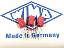 2019 hot sale 10pcs/20pcs German capacitor WIMA MKS2 50V 3.3UF 335 3u3 P: 5mm Audio free shipping