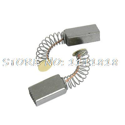"""<font><b>2</b></font> Pairs Replacement Motor Carbon Brushes <font><b>19</b></font>/32"""" <font><b>x</b></font> 5/<font><b>16</b></font>"""" <font><b>x</b></font> <font><b>1</b></font>/5"""""""