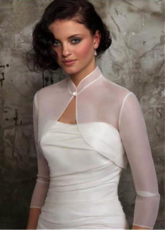 Shawls For Dresses For Weddings. Lace Sheer Short Sleeve Bridal ...