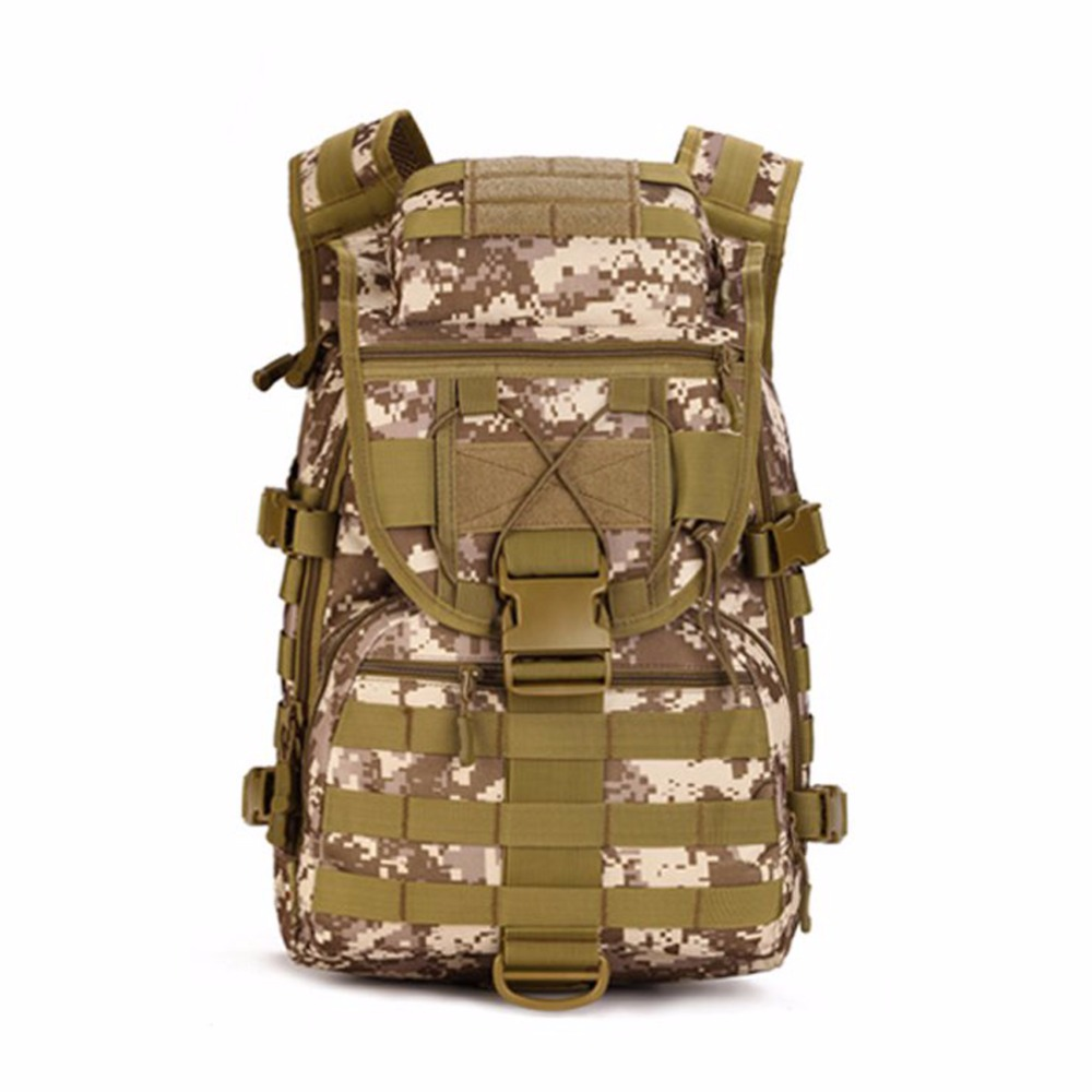 Outdoor Sports Army Camouflage Nylon font b Backpack b font Military font b Tactical b font