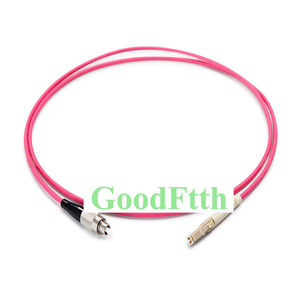 Image 1 - Fiber yama kablosu Jumper FC LC LC FC OM4 Simplex GoodFtth 1 15m 6 adet/grup