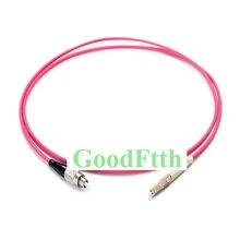 In fibra di Patch Cord Cavo di Ponticello FC LC LC FC OM4 Simplex GoodFtth 1 15m 6 pz/lotto