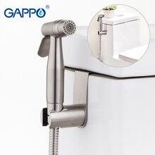 Gappo bidês wc bidé assento do banheiro pulverizador mão bidé torneiras bidé chuveiro limpo wc torneira de água fria