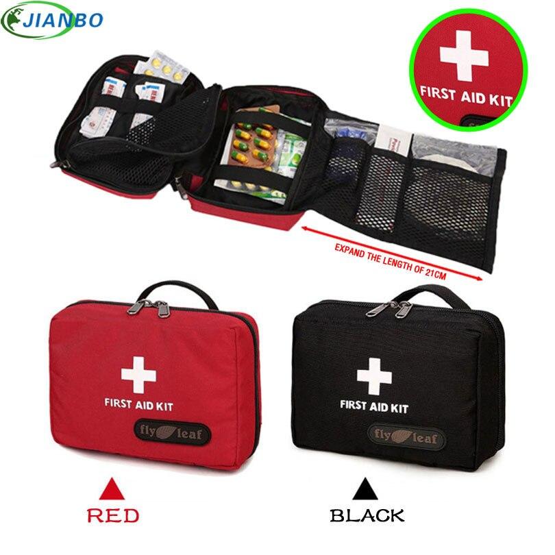 Pessoa portátil ao ar livre à prova dwaterproof água kit de primeiros socorros saco para a família viagem casa kits de emergência sobrevivência do carro medicina tratamento no peito