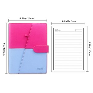 Image 4 - 50 sheets 100 Pages Reusable Notebook Inner Paper Refill compatible with PU A5 Smart Erasable Notebook Pocketbook