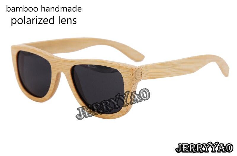 font b HandMade b font Bamboo Sunglasses Women Polarized font b Sun b font font